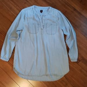 JAG chambray tunic